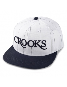 Crooks & Castles Serif snapback white-navy