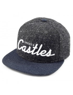 Crooks & Castles Team castles snapback navy