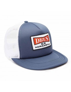 DEUS One Trucker cap - Blue