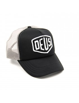 DEUS Baylands Trucker cap - Black-Grey
