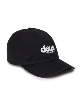 DEUS Curved Cap Records - black