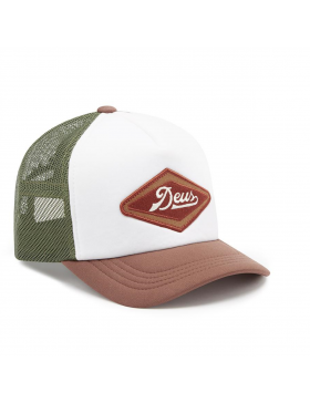 DEUS Diamond 2 Trucker cap - Brown