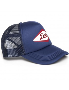 DEUS Diamond trucker cap - navy