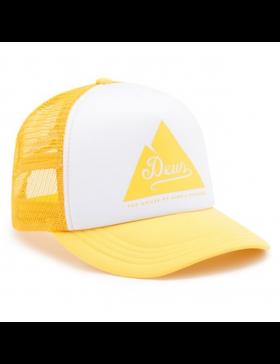 DEUS Peak Trucker cap - Lemon