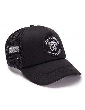 DEUS Pet Smokey Trucker - black