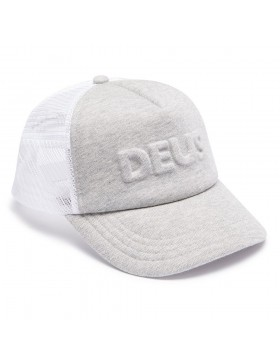 DEUS Pet Trucker Capital Letters- grey marle