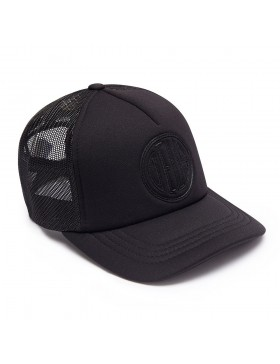 DEUS Pet Trucker Pill - black on black
