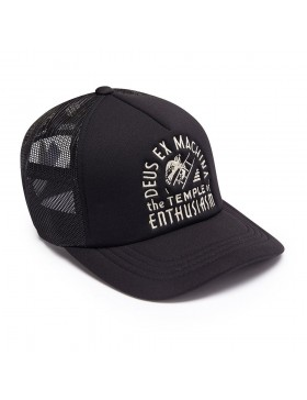 DEUS Pet Trucker TEMPLE - black