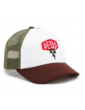 DEUS Piston Shield 2 Trucker cap - Brown