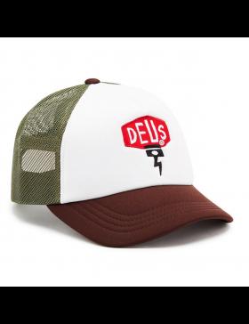DEUS Piston Shield 2 Trucker cap - Brown