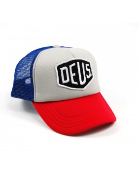 DEUS Trucker cap Baylands Trucker - Blue-Red