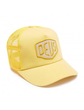 DEUS Trucker pet Foxtrot Shield - yellow
