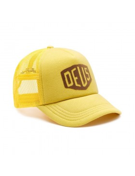 DEUS Sunny Shield Trucker cap - Pale Gold