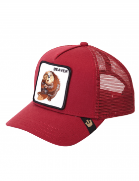 Goorin Bros. Beaver Trucker cap - Big Red