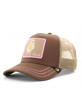 Goorin Bros. Chicky Boom Trucker cap -  Brown