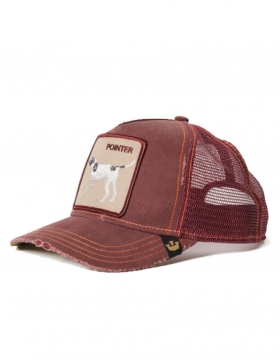 Goorin Bros. The Pointer Trucker cap -  Wine