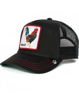 Goorin Bros. Grande Gallo Trucker cap - Black