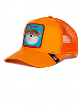 Goorin Bros. Puff Trucker cap - Orange