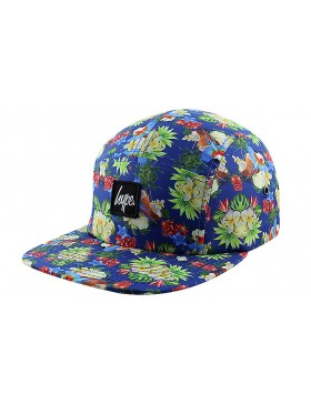 HYPE 5 panel Parrot coconut Strapback