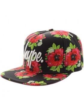 HYPE Black poppy Snapback