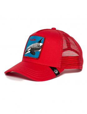 Goorin Bros. Killer Whale Trucker cap - Red