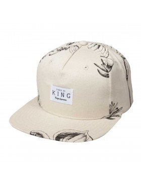 King Apparel Botanic Strapback grey