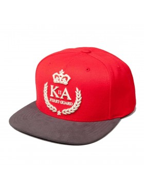 KING APPAREL FIRST GUARD Snapback CAP RED
