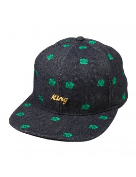 King Apparel Fuchsia Snapback navy