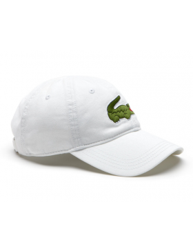 Lacoste pet - Big Croc Gabardine - white