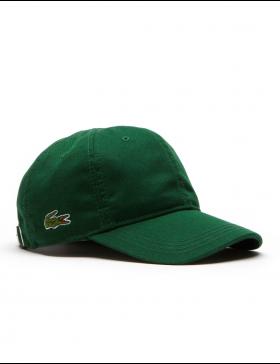 Lacoste pet - Gabardine cap - Dark Green