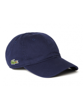 Lacoste pet - Gabardine cap - navy blue