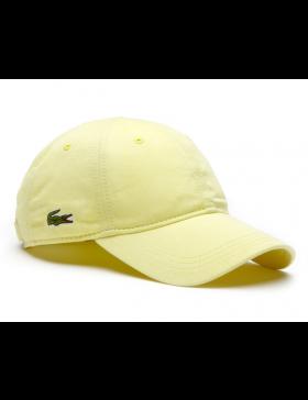 Lacoste pet - Gabardine cap - sulphur pit yellow