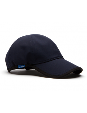 Lacoste pet - Texturized Sport cap - navy