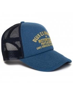 DEUS Marle Venice Trucker Cap - Dark Blue