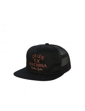 DEUS Moreno Trucker cap - Black