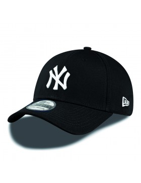 New Era 39Thirty Curved cap (3930) NY New York Yankees - black white