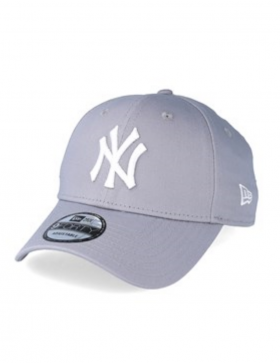 New Era 9Forty Curved cap (940) NY New York Yankees - grey