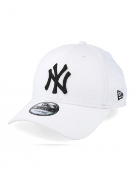 New Era 940 League Basic NY White Black