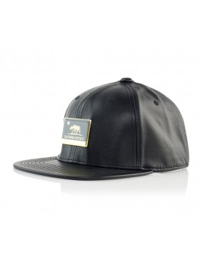 Official Cap Cali metal Strapback - black