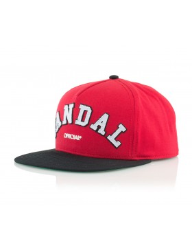 Official Cap Chiraq Vandal Snapback - red