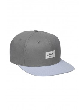 Reell 6 panel Pitchout snapback Light Blue / Grey