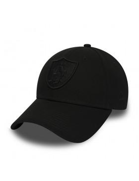 New Era 9Forty Curved cap (940) Oakland Raiders - Black on Black