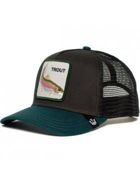 Goorin Bros. Rainbow Trout Trucker cap - Black