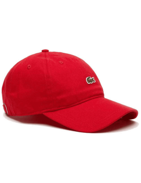 Lacoste cap - Small Croc Gabardine - Red