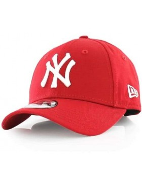 New Era 9Forty Curved cap (940) NY New York Yankees Kids - Red