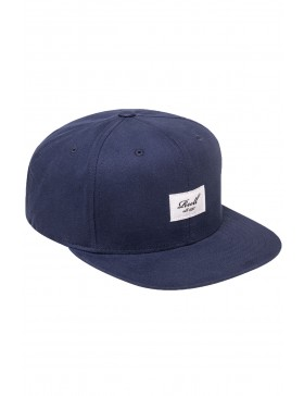 Reell 6 panel Pitchout cap snapback all navy