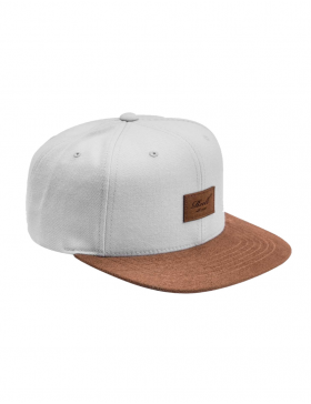 Reell 6 panel Suede cap snapback Dust Grey