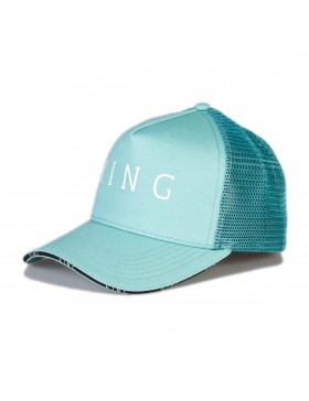 KING Apparel Stepney Curved Trucker cap - Mint