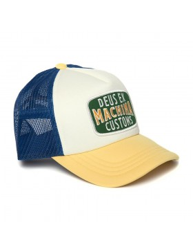 DEUS Title Trucker cap - Dusty Yellow