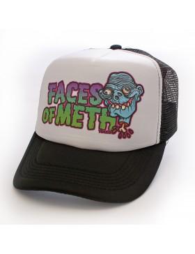 Toxico Faces Of Meth 1 trucker cap